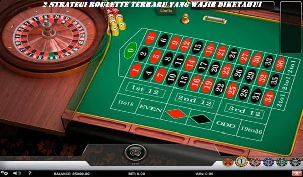 2 Strategi Roulette Terbaru yang Wajib Diketahui